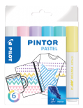 Pastel Colours Pack of Medium Pilot Pintor Paint Markers